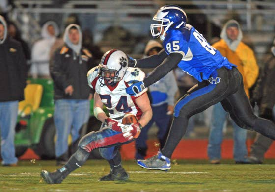 Don't know Hammonton defensive end Ian Evans? You will after this season