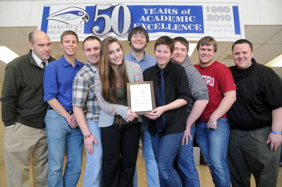 Oakcrest Academic Team brings home top honors
