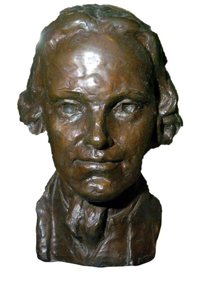 Richard Stockton bust