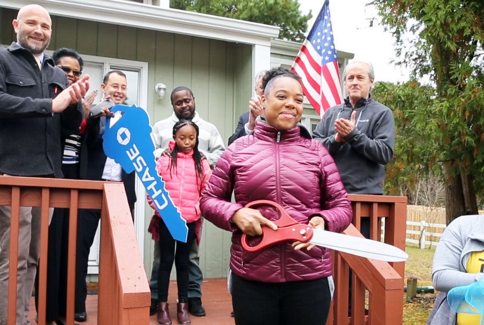 US Navy veteran gifted mortgage-free home in EHT