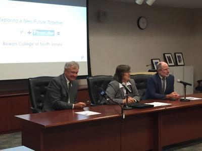 Cumberland County College officials rowan merger