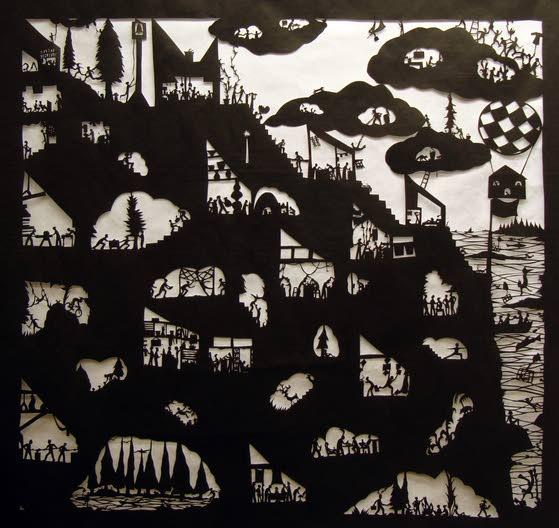 Hammonton exhibit features artists' creative uses of paper