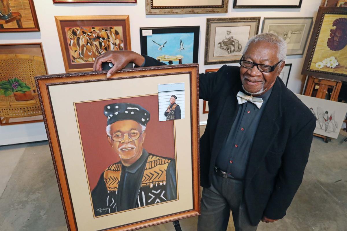 "Leonard ""Lenny"" Wilkinson's artwork"