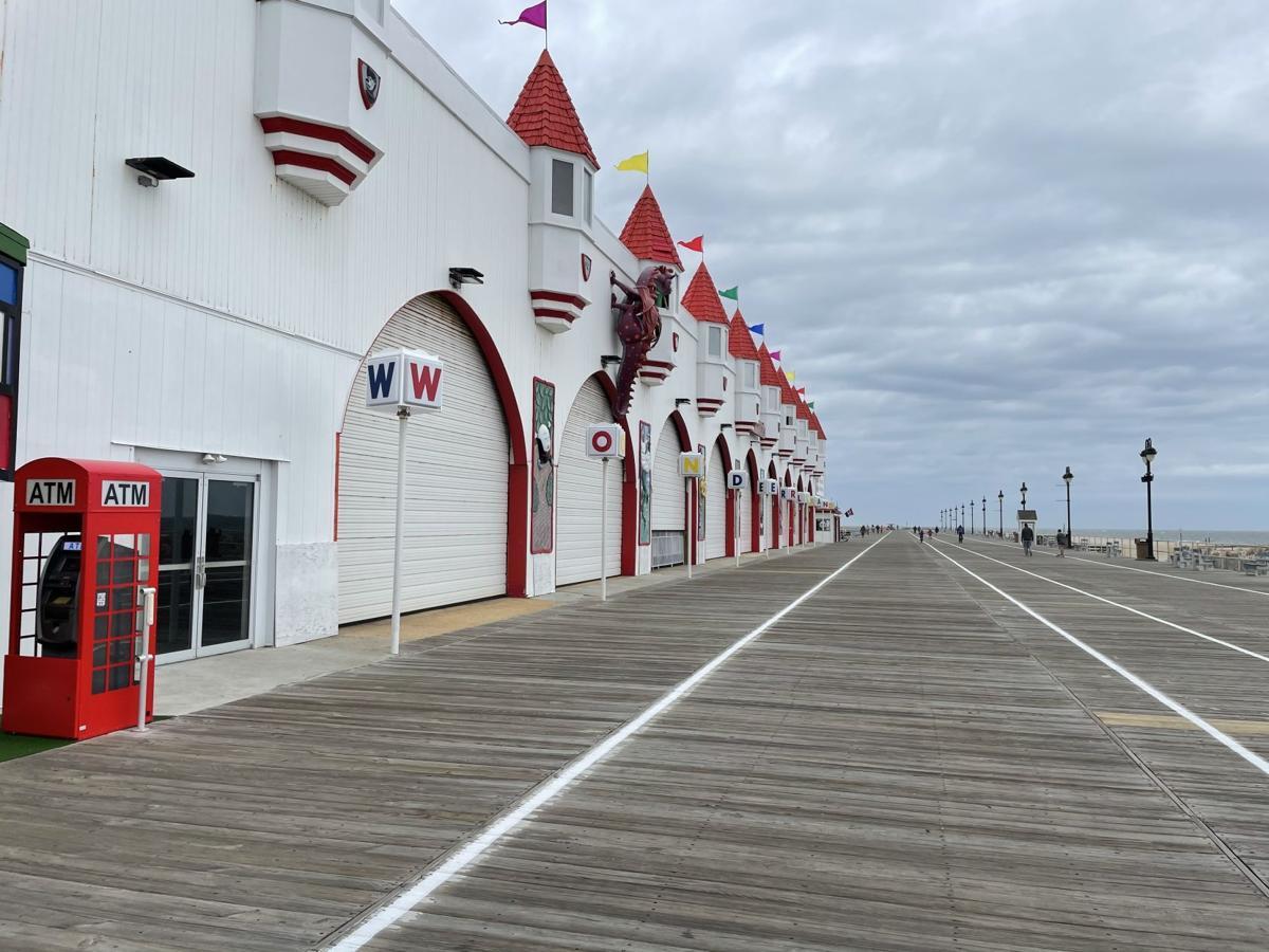 Gillian's Wonderland Pier exterior
