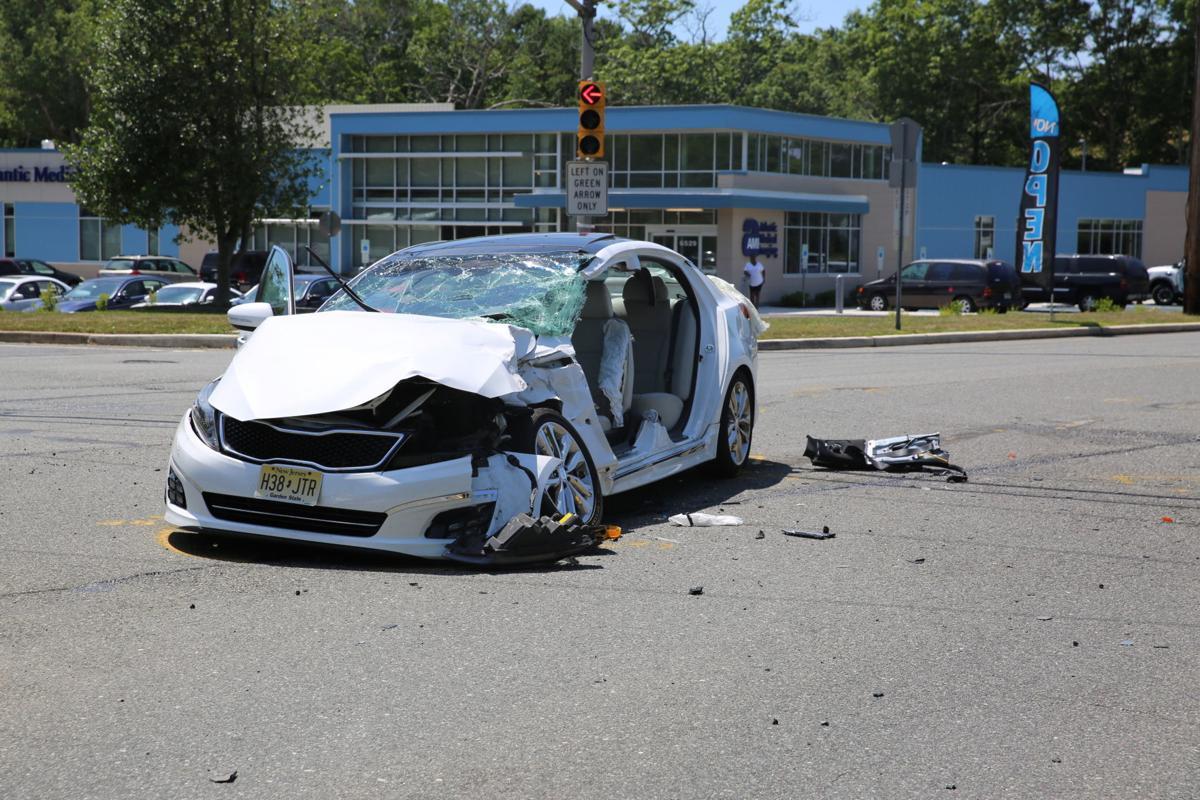 Car Accident Sedan
