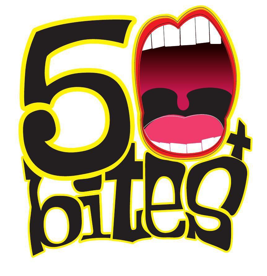 50 Bites logo