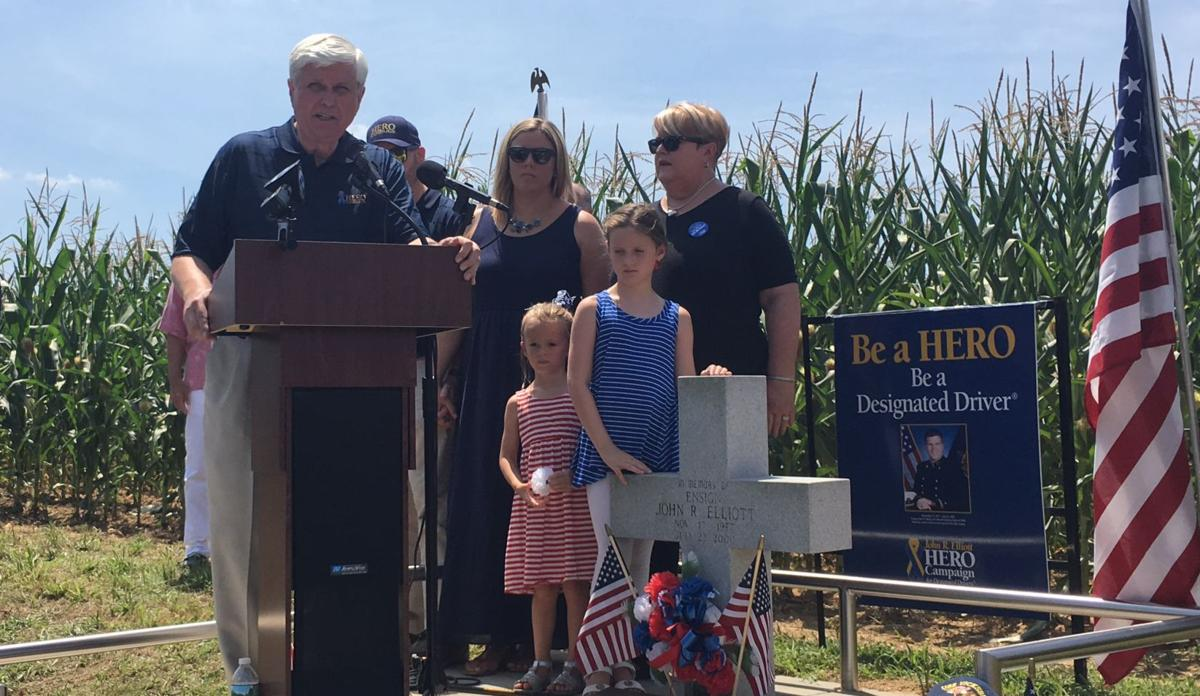 HERO Campaign rededicates roadside memorial, announces roadway naming