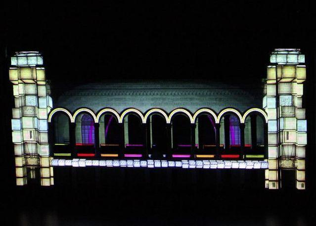 Boardwalk Hall light show