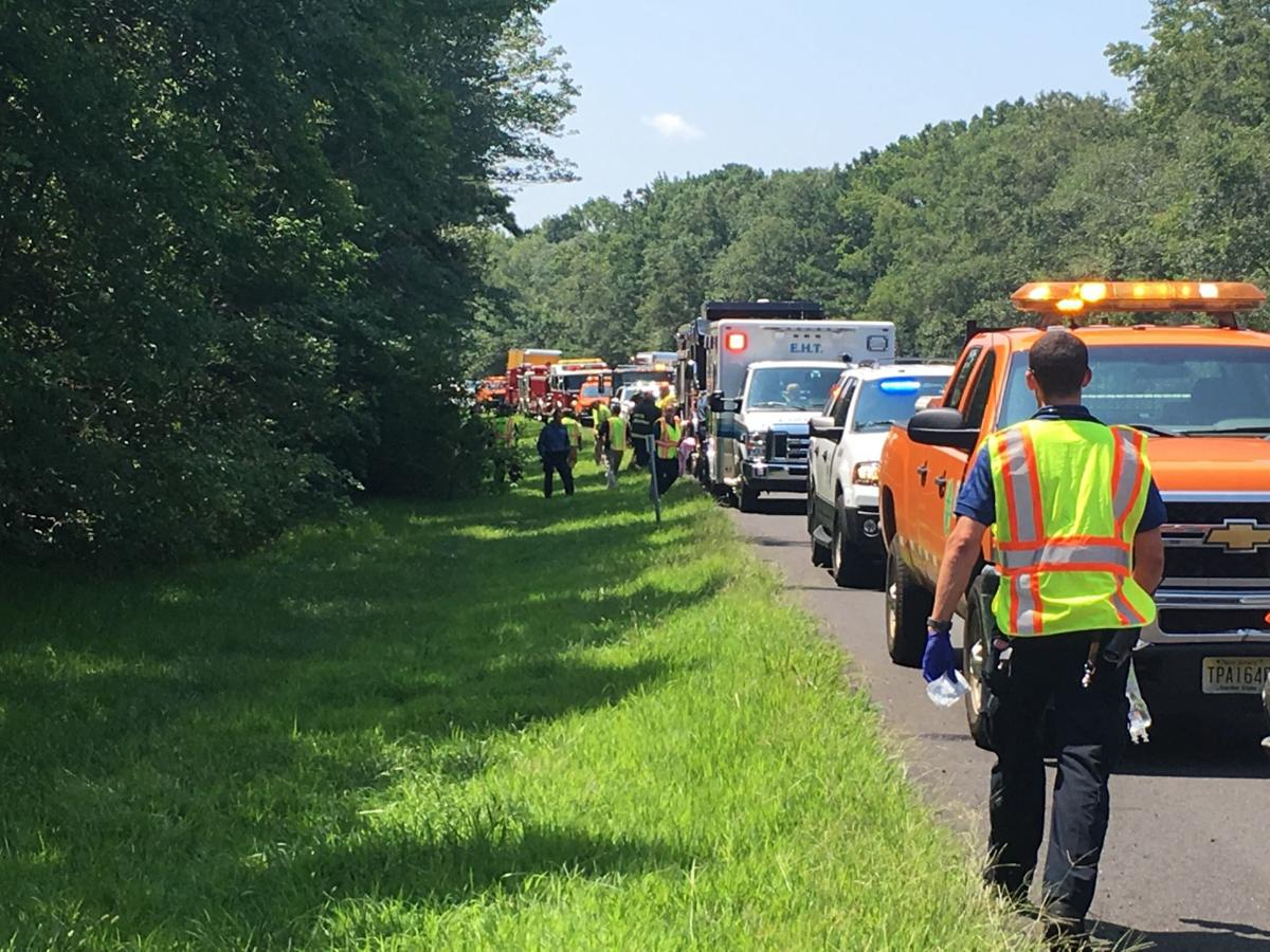 Firefighters Police Respond To Garden State Parkway Crash Breaking News