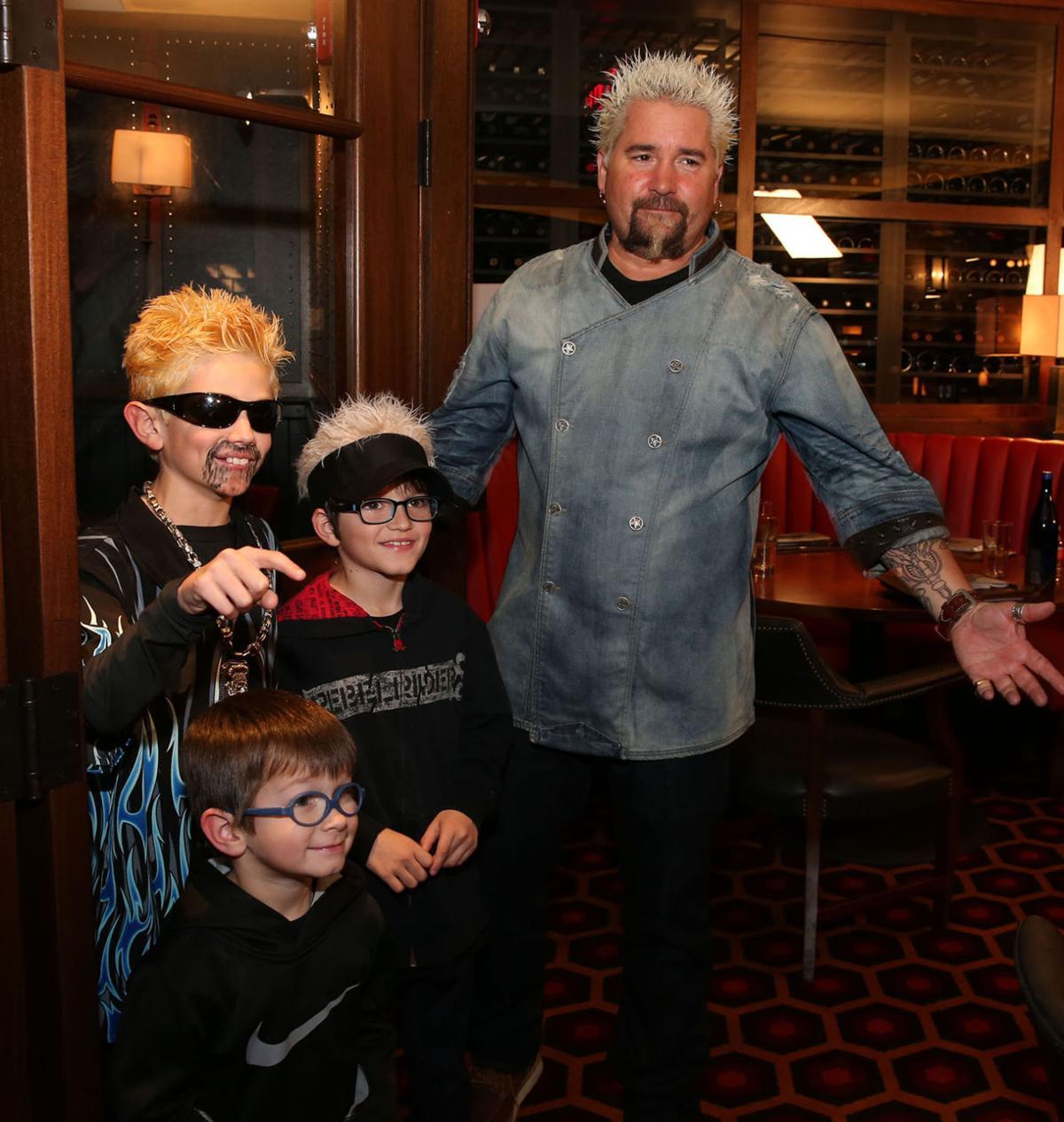 Guy Fieri visited his new restaurant called Guy's Chophouse, Bally's Atlantic City