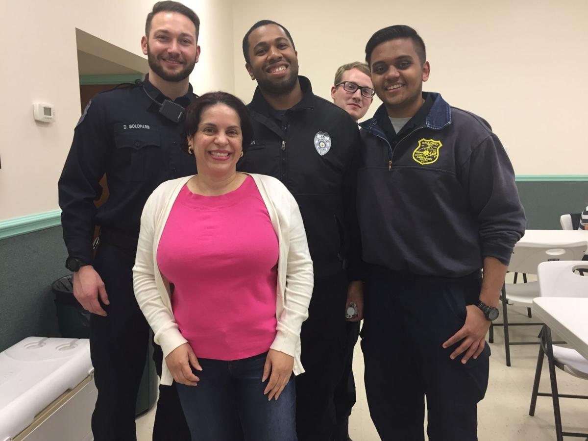 Bayview Volunteer Fire Company Holds Meet And Greet With Galloway