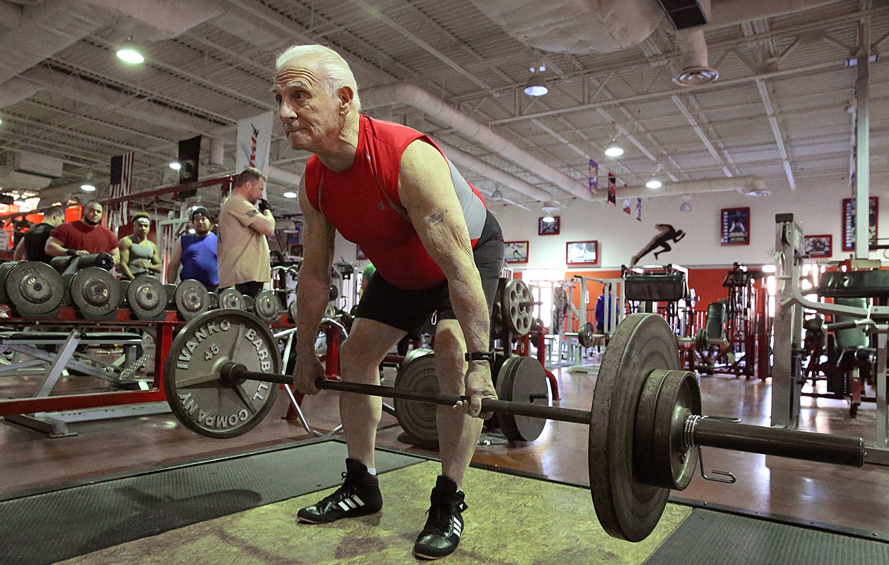 80 year old Powerlifter Ray Ou0027Brien WATCH 80 year old Galloway