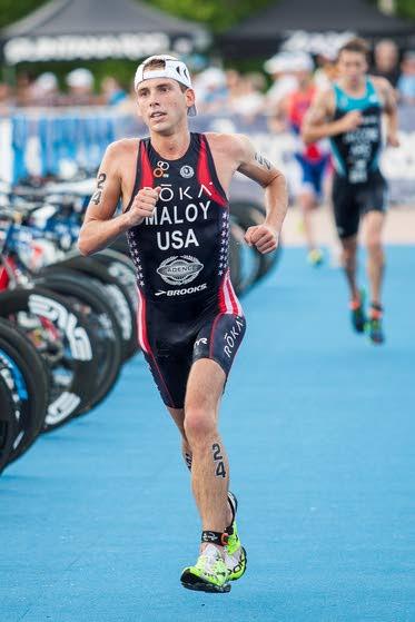 Wildwood Crest native Joe Maloy sets sights high after winning triathlon national title