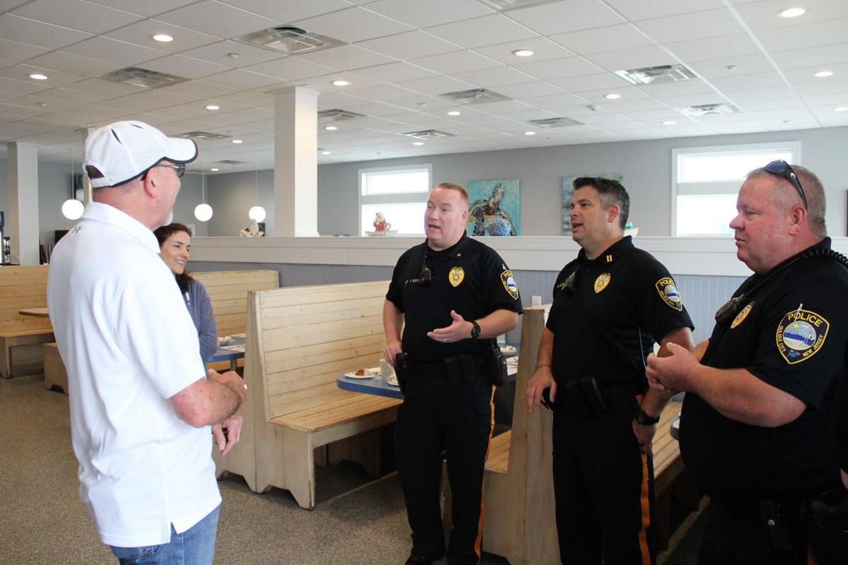 SIC Police host community at second 'Coffee with a Cop' event