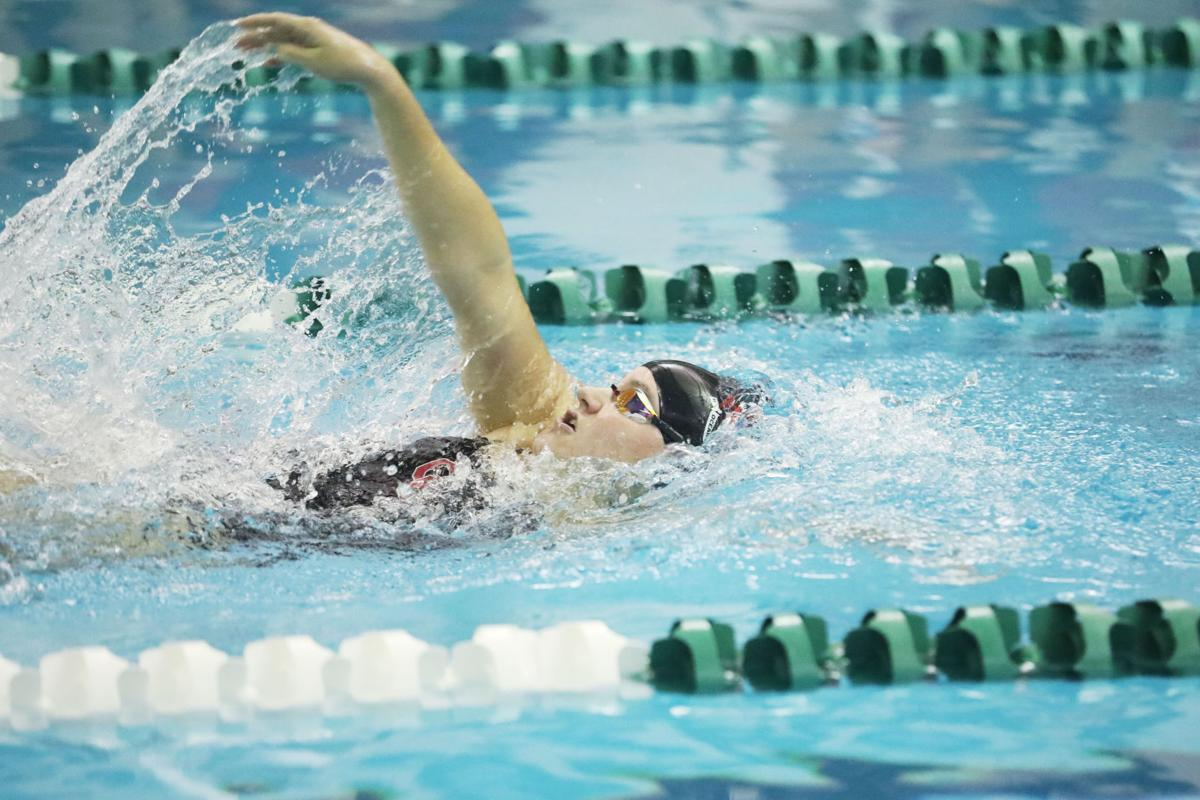 Ocean City at Mainland Regional girls swimming
