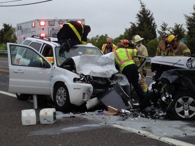 Causeway crash