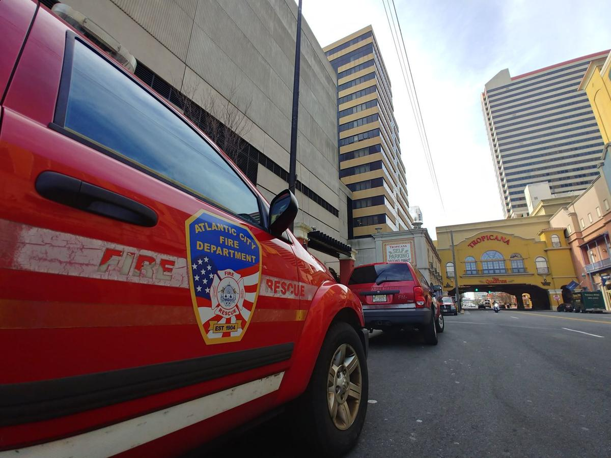 Tropicana evacuated for hotel room fire