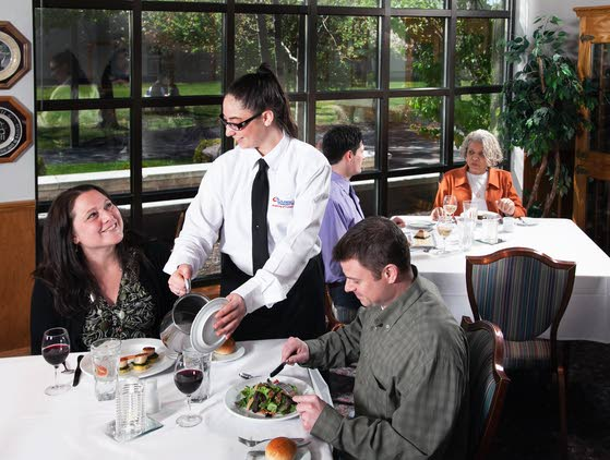 First class dining offered at a substantial discount