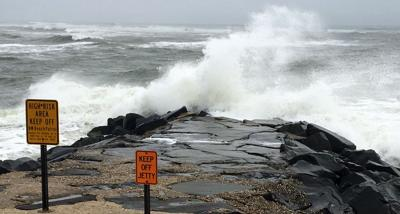 Maria storm surf