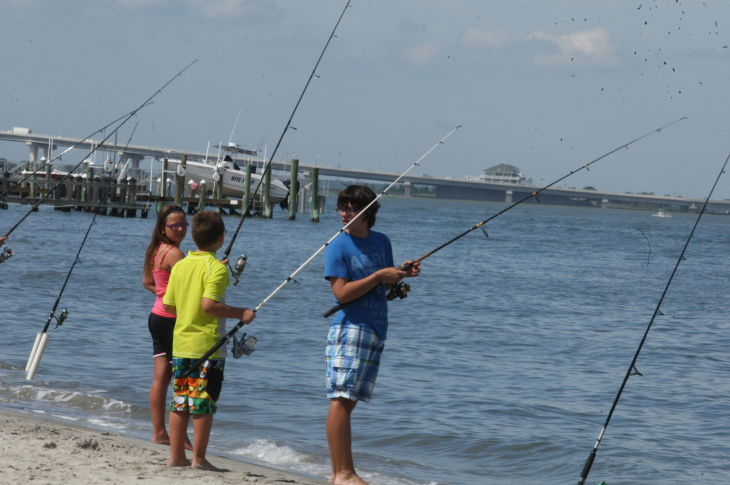 38th annual Boys and Girls Surf Fishing Tournament