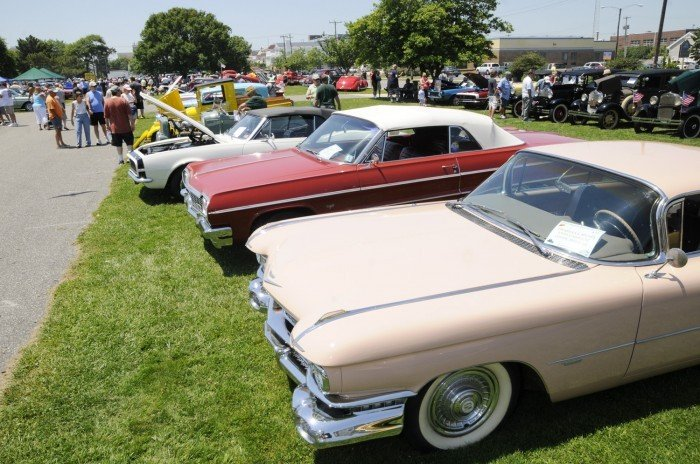 Shining Pieces Of Past On Display At Car Show In Ocean City Cape - Ocean city car show