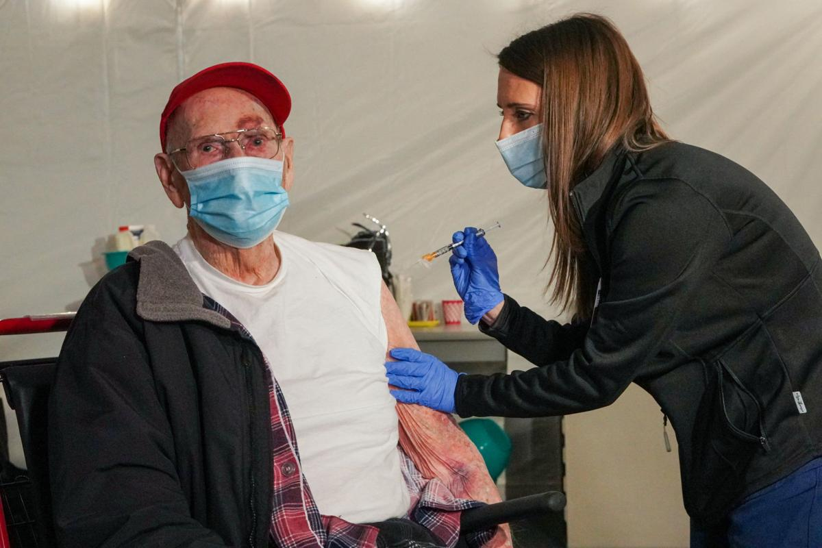 Watch Now 100 Year Old Wwii Veteran Receives Second Dose Of The Covid 19 Vaccine At Inspira Medical Center Vineland Local News Pressofatlanticcity Com