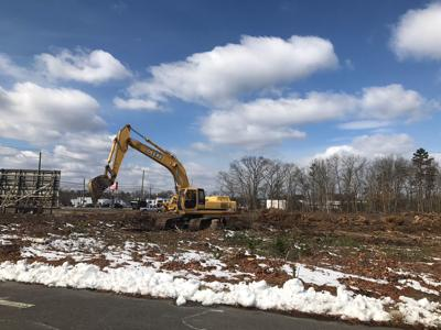 Site Of Eht Aldi Cleared Store To Open At The End Of 2018 Egg