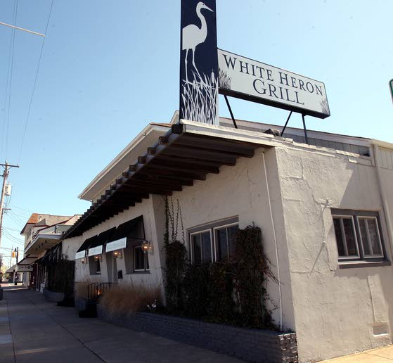 White Heron Grill in Stone Harbor the epitome of summer cool