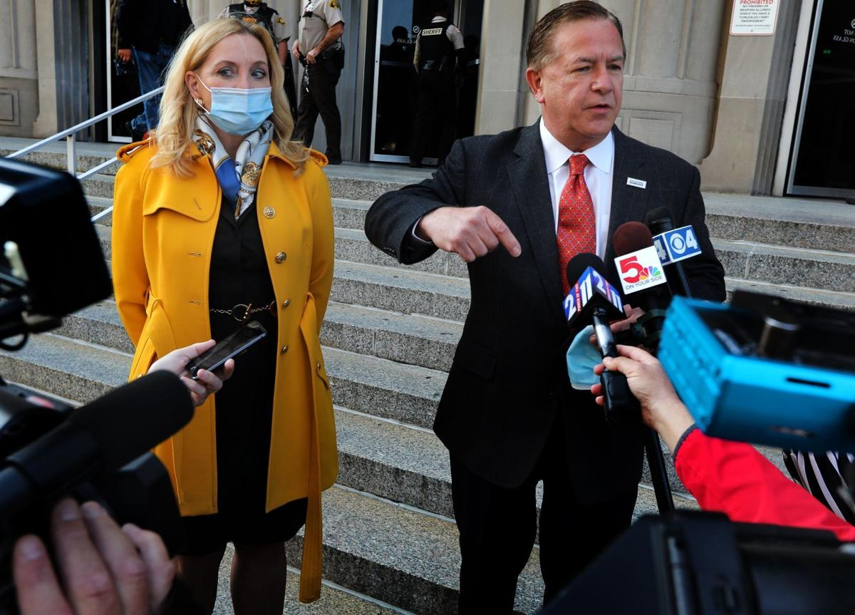 Hearing continued until next week for Mark and Patricia McCloskey