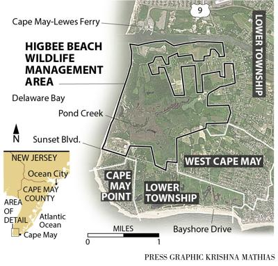 Higbee Wildlife Management area map 12-2015