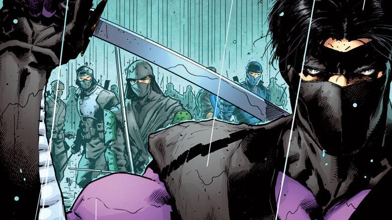 Valiant teases 'Ninja-K' #1 with a covers-and-pencils preview