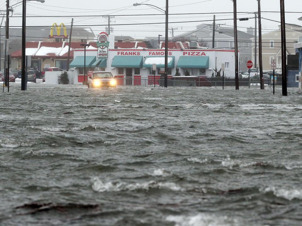 Images of Flooding in the Wildwoods from Winter Storm Jonas