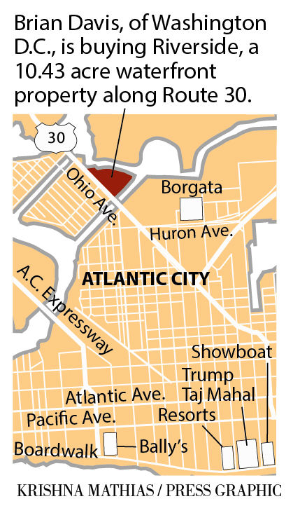 Atlantic City Riverside property map 9-2016