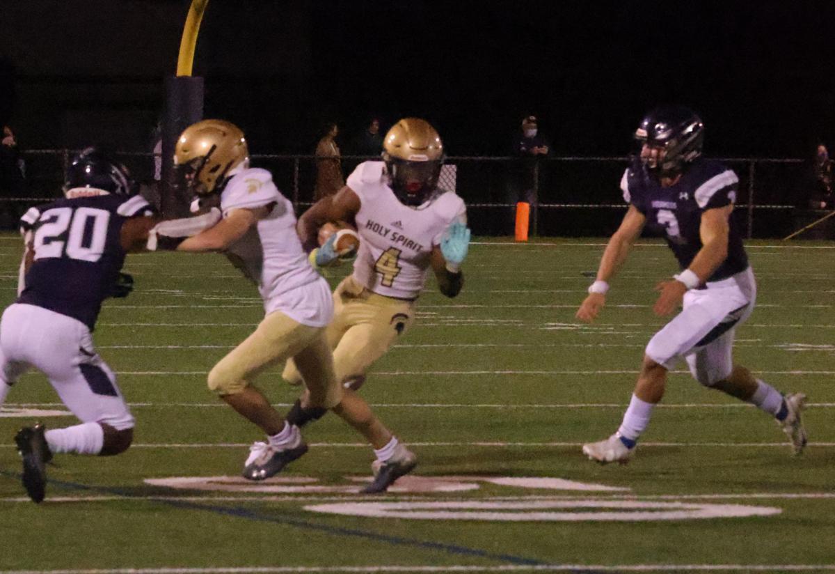 St. Augustine Prep vs Holy Spirit football game