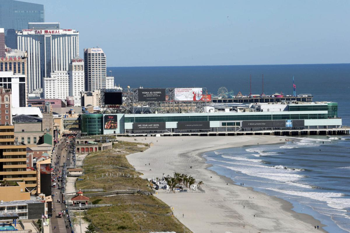 Aerial views of Atlantic City