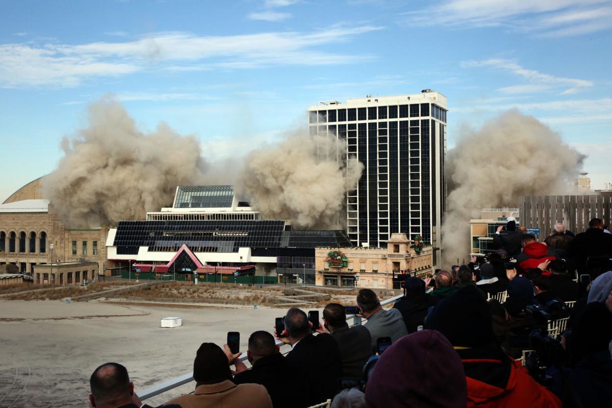 Trump Plaza Demolition