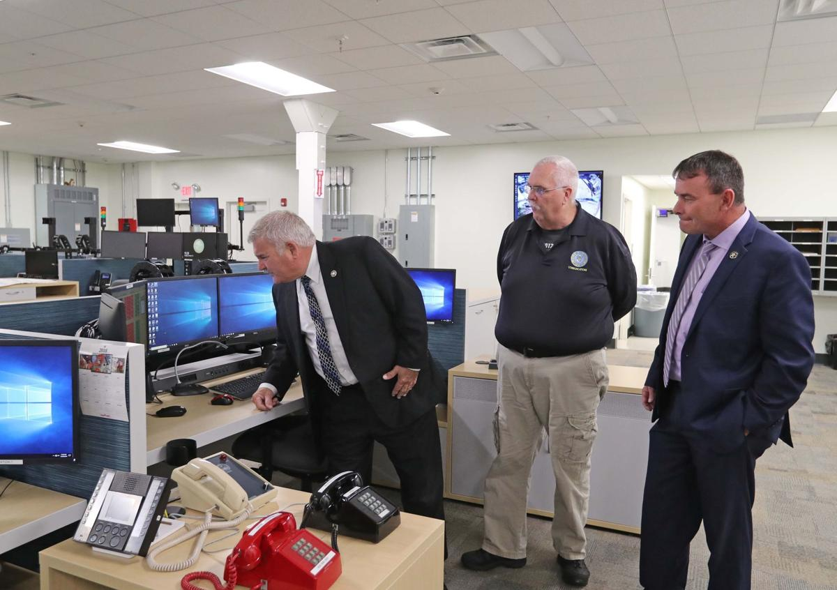 Cape May County hosts ribbon-cutting for central dispatch