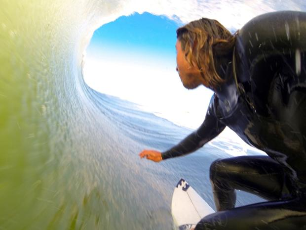 O.C. surfer Rob Kelly's unique video a contender in online contest