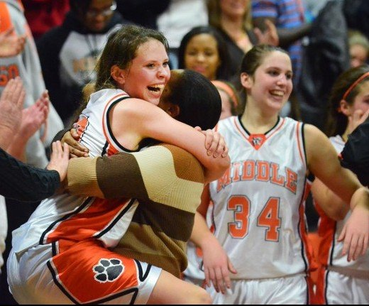 middle township girls basketball