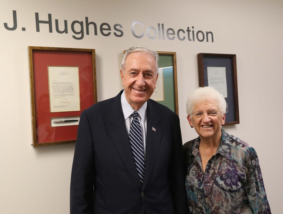 William Hughes former US Ambassador and Congressman who is receiving the Distinguished Lifetime Achievement Award