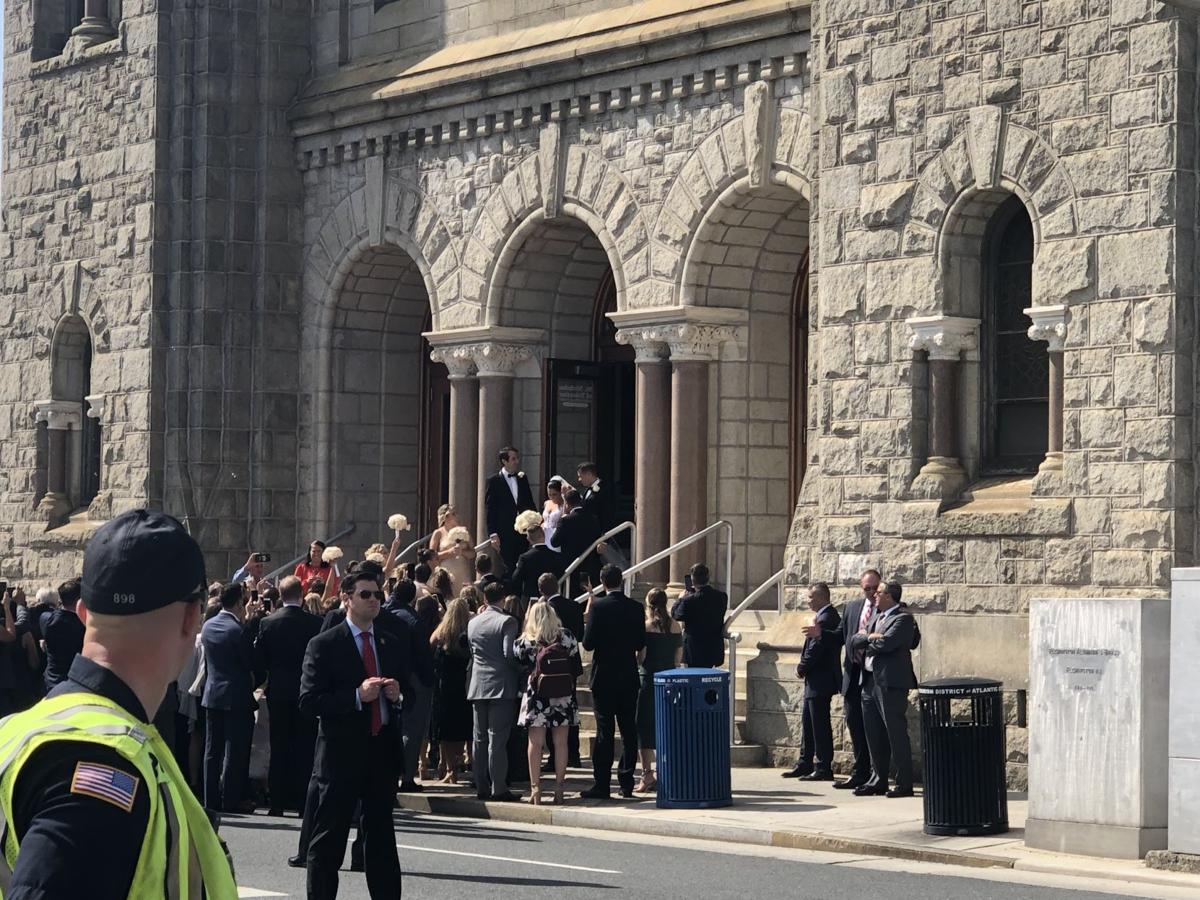 Pence wedding in Atlantic City
