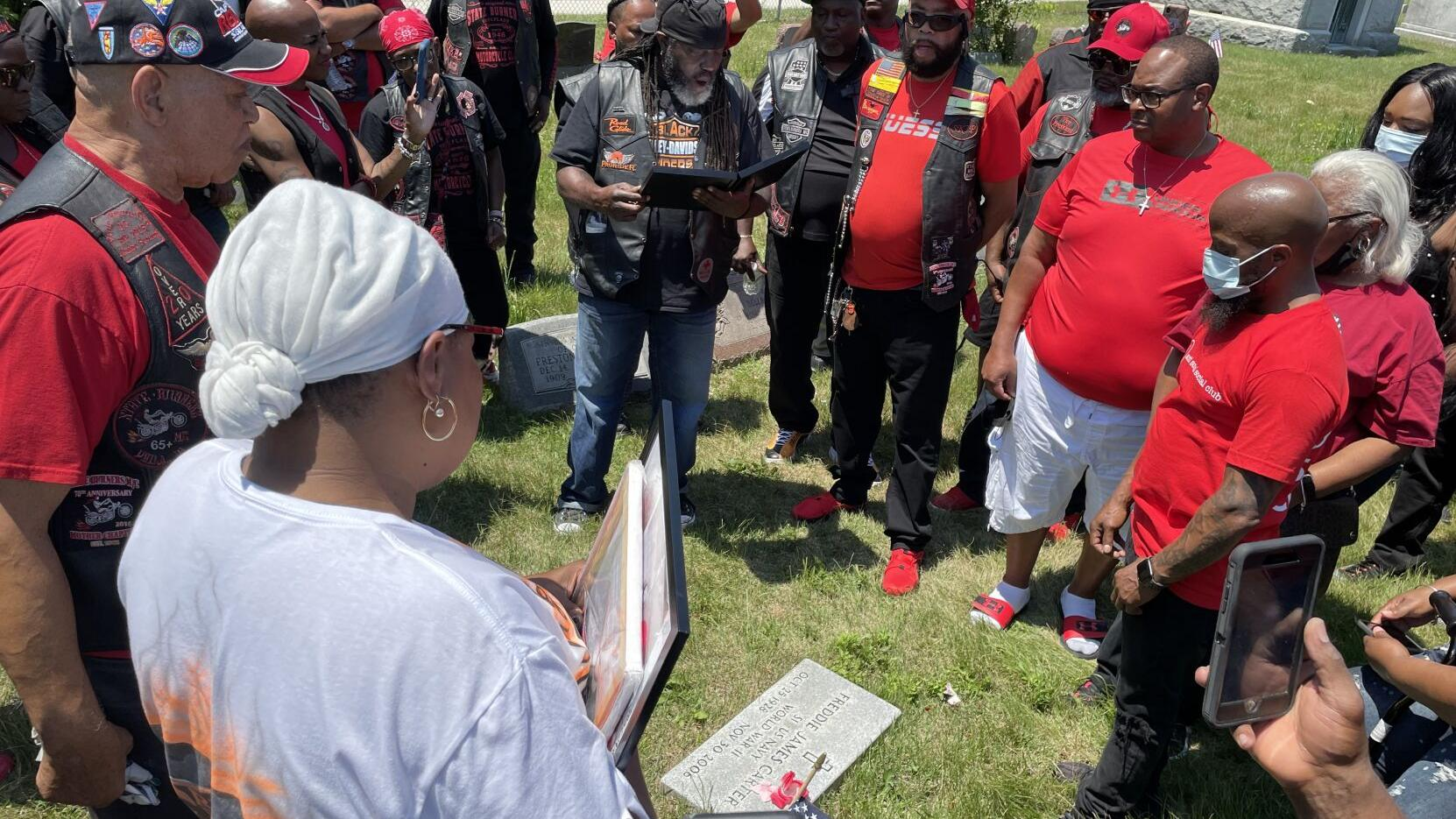 First Black motorcycle club on East Coast celebrates 75 years by finding founder's grave in Pleasantville