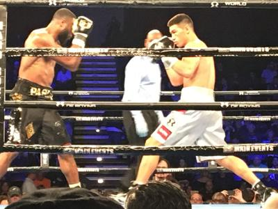 Dmitry Bivol keeps his title