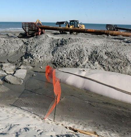 Sandy damage