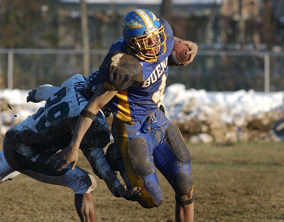Andrew Mack, football, basketball, 2003