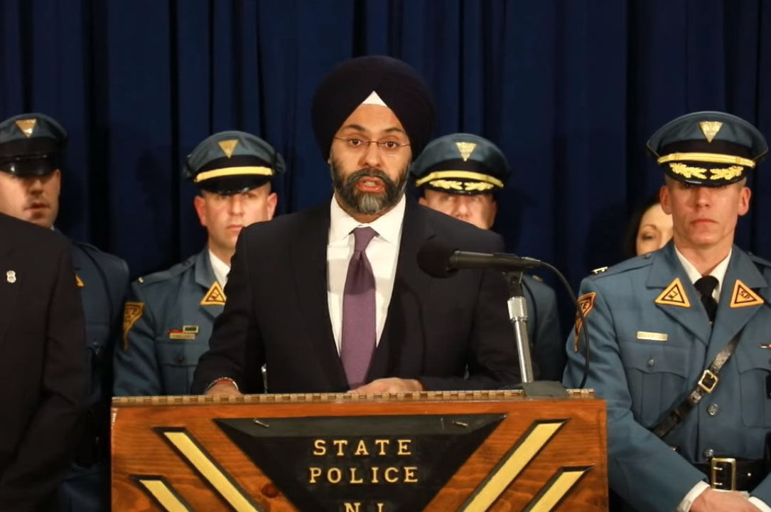 State Attorney General Gurbir S. Grewal
