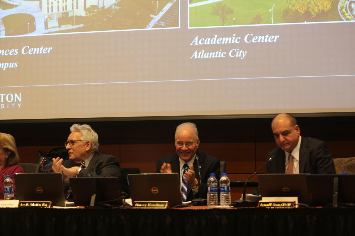 Stockton University Board of Trustees meeting Wednesday, Dec. 4, 2019.