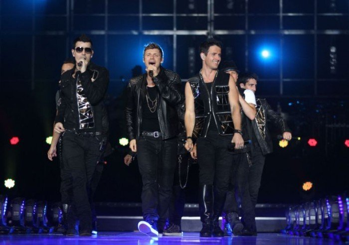 New Kids on the Block and Backstreet Boys