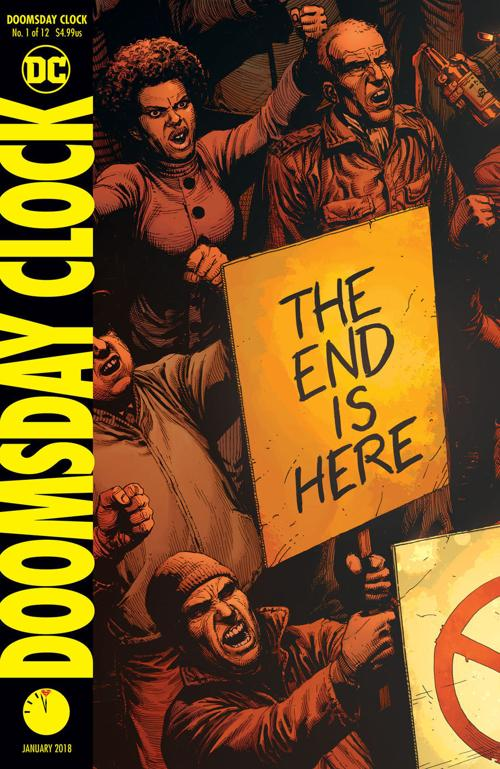 After A Rocky Month In Comics Doomsday Clock Is Here
