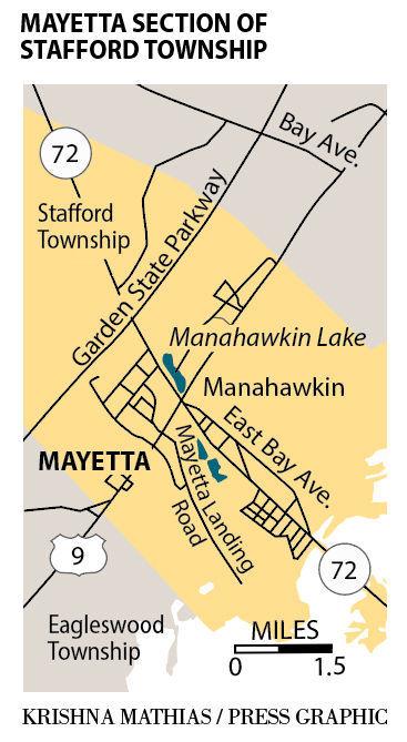 Treux Mayetta Stafford map
